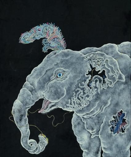 【今週のおすすめアート】双子のアートユニット『HAMADARAKA』の個展「MYSTICATROPI
