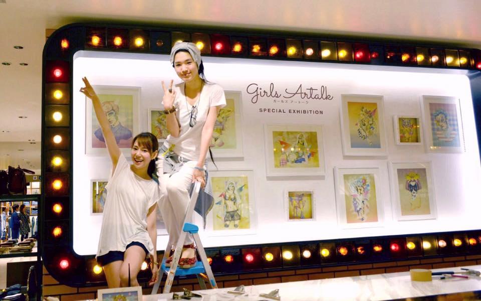 『girls Artalk Special Exhibition』開催中!@伊勢丹新宿店本店
