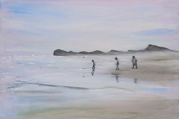 【今週のおすすめアート】=小池アミイゴ「東日本」そして西日本漂泊=
