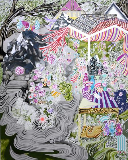蜃気楼にインスピレーションを受けて! 水野里奈新作個展  「入れ子状の蜃気楼」【今週のおすすめアート