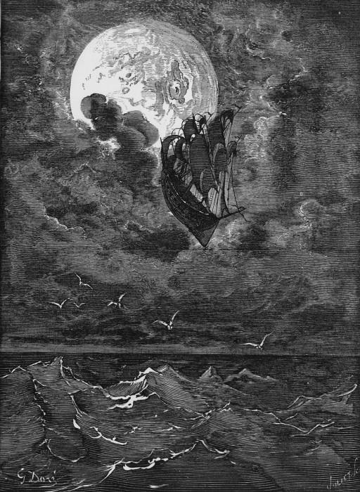 テオフィル・ゴーティエ(子)著、ギュスターヴ・ドレ画『ミュンヒハウゼン男爵の冒険』m