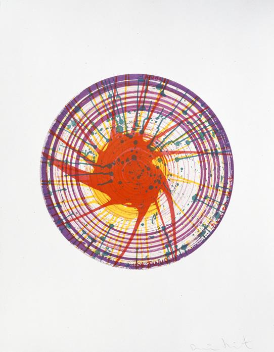 不規則なペイント  ダミアン・ハースト版画展 【今週のおすすめアート】