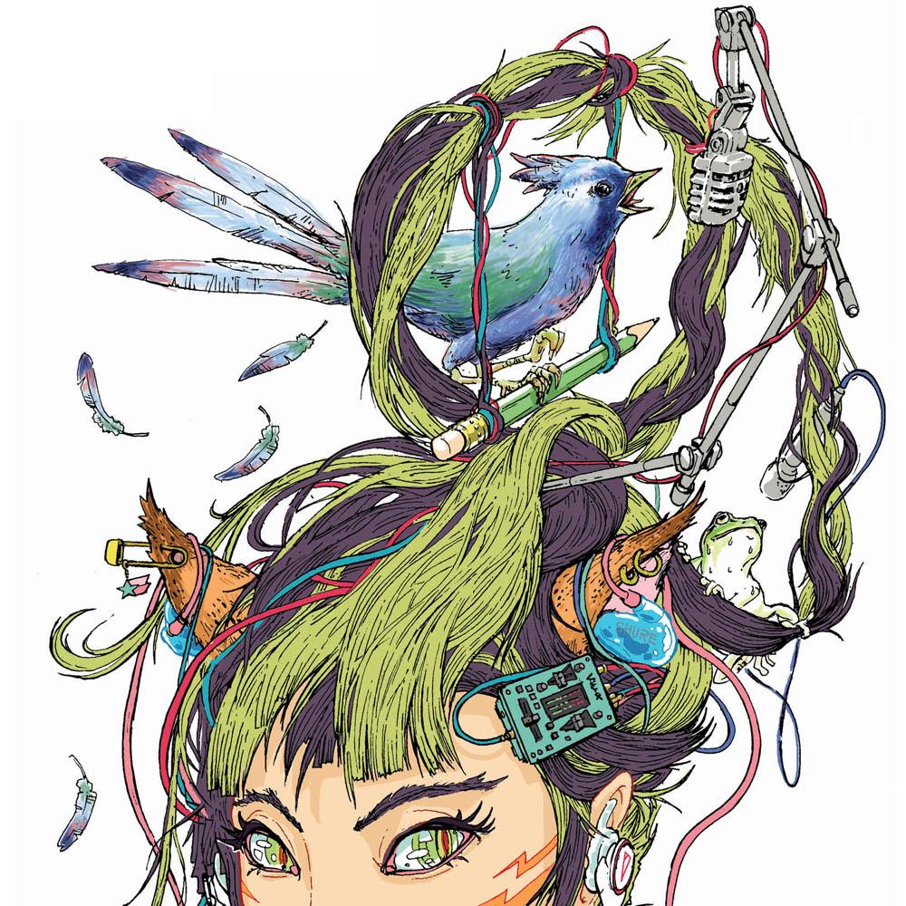 アメコミ×浮世絵 今井トゥーンズ 「A&Q ~答えがはじめに在る世界」【今週のおすすめアート】