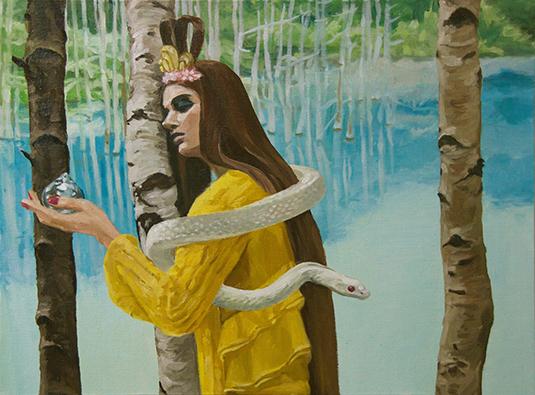 シニカルな油絵 炭田紗季 個展『芥を択ばず』【今週のおすすめアート】
