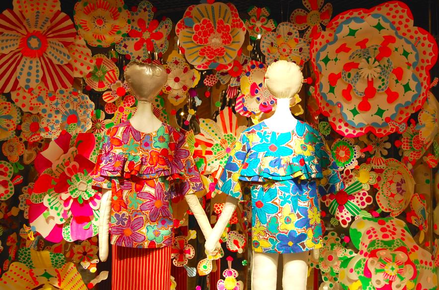 金谷裕子×伊勢丹 春夏ファッションの祭典「花々祭」【今週のオススメアート】