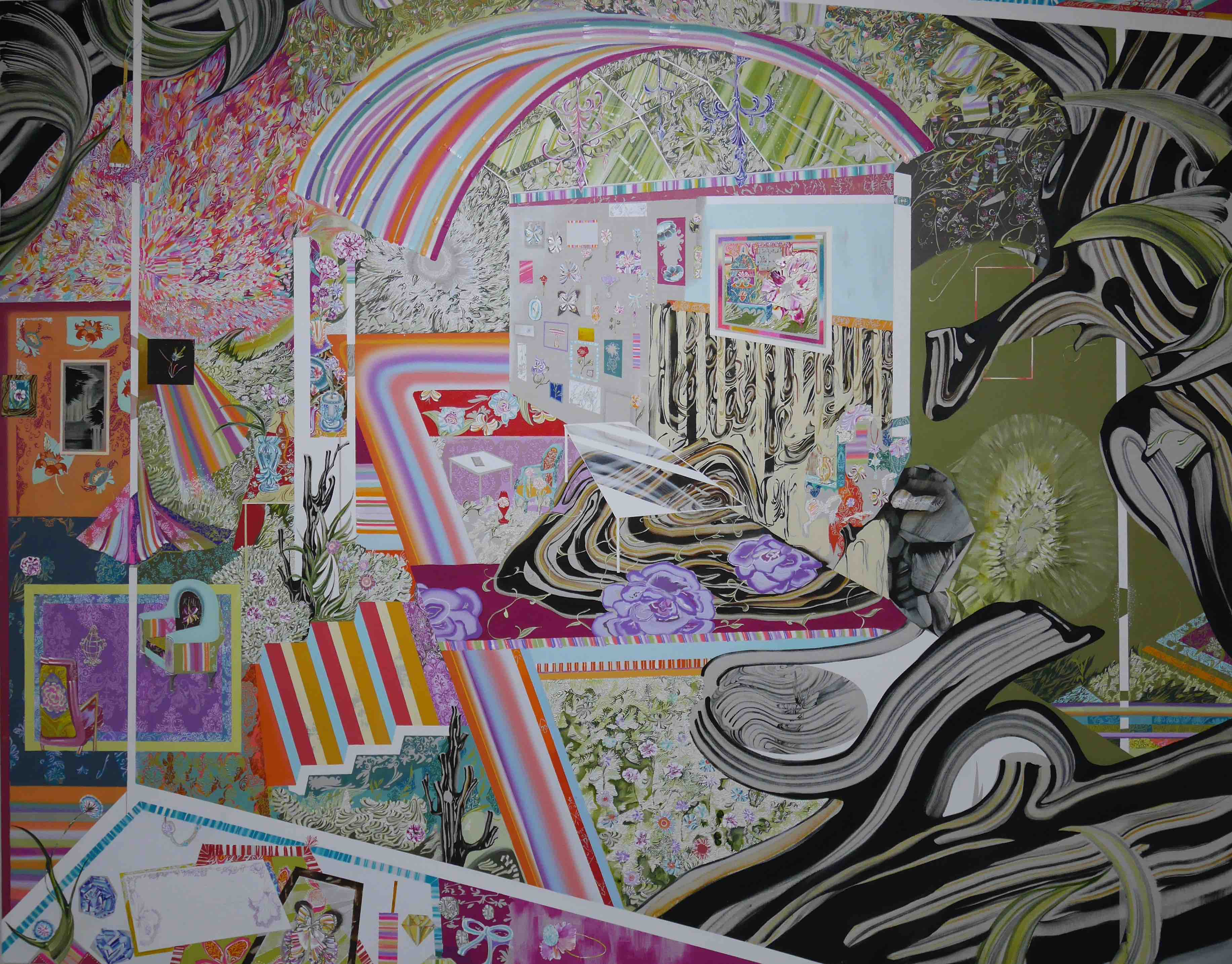 見つくすことが出来ない絵画 水野里奈個展  「絵画とドローイングの境界線」【今週のおすすめアート】