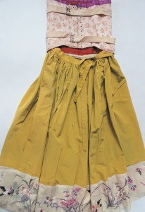 黄緑ドレス