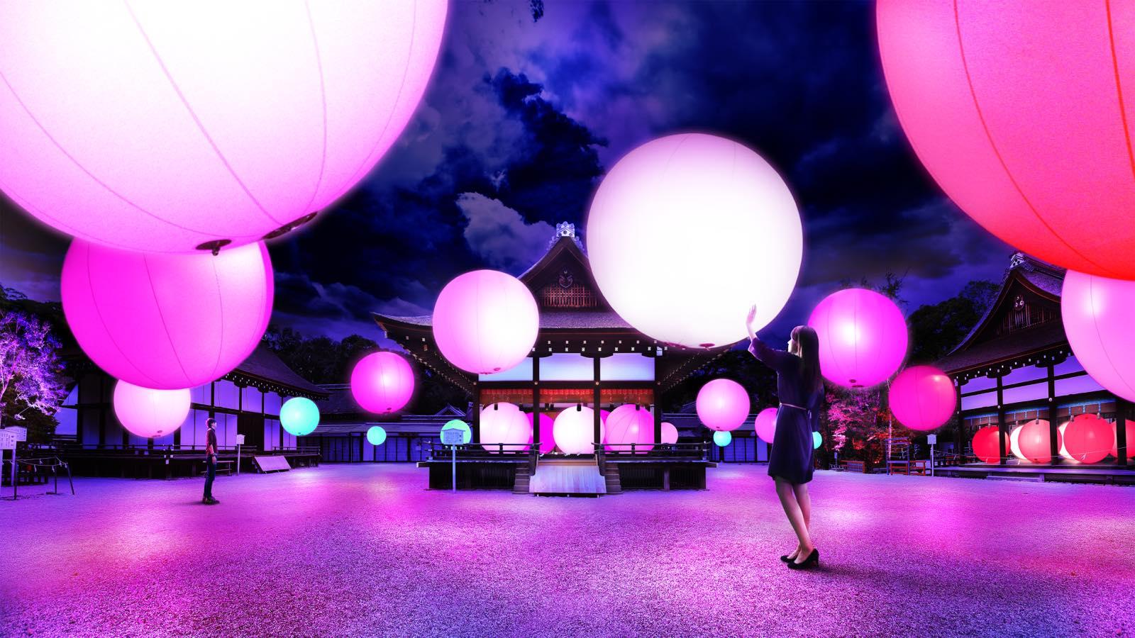 光のアート空間! チームラボ「下鴨神社 糺の森の光の祭」【今週のおすすめアート】