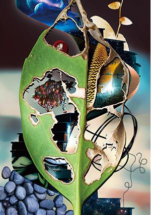 蝶になる前の青虫が食べた葉!? 三嶋章義「明瞭模糊」【今週のおすすめアート】