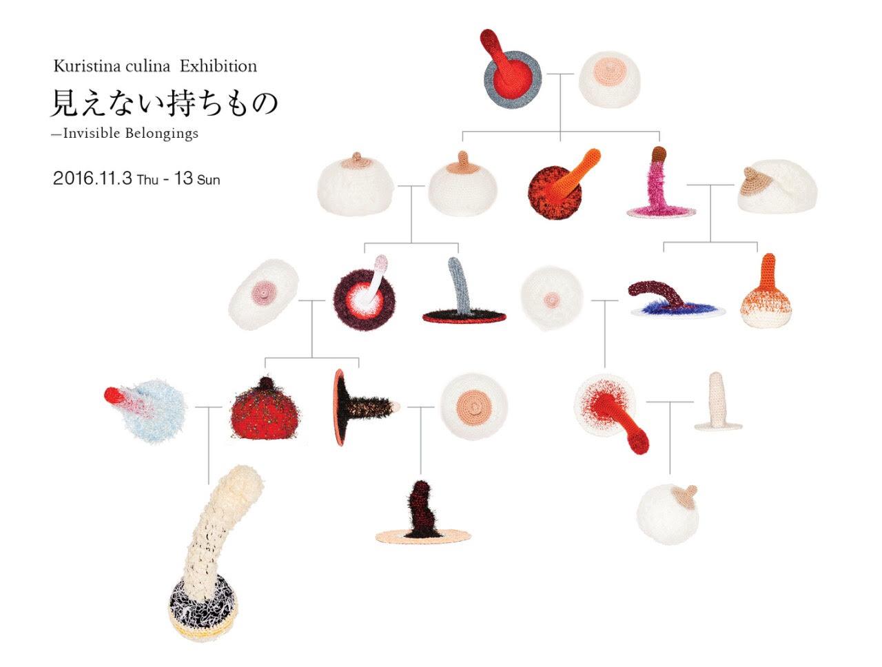 クリスティーナクリナ個展「見えない持ちもの -Invisible Belongings」【今週のおす