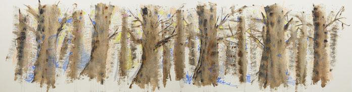 大宮エリー 個展「tree,tree,tree」 ーたった1週間の展覧会ー木々の神秘エネルギーを浴