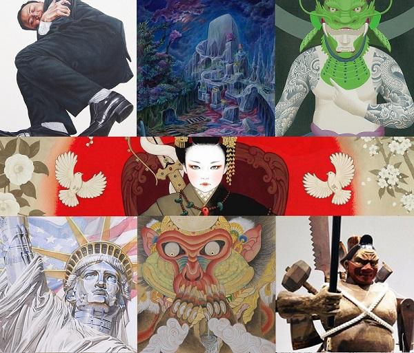 鬼才にして奇想の作家7人のグループ展! TENGAI 3.0  天明屋尚、空山基、 淺野健一、伊藤大