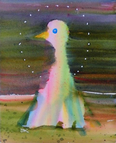 ~背景と溶け合う鳥たち~伏黒歩 新作個展「飛べないかたち」【今週のおすすめアート】