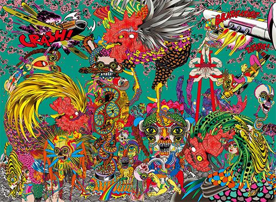 ~夢や少年時代から紡ぐアートの姿~田名網敬一「貘の札」【今週のおすすめアート】