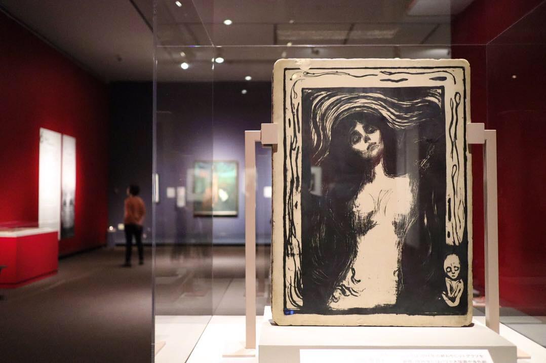 ムンクの《叫び》(1910年?)が初来日!東京都美術館でムンクの大回顧展開催中