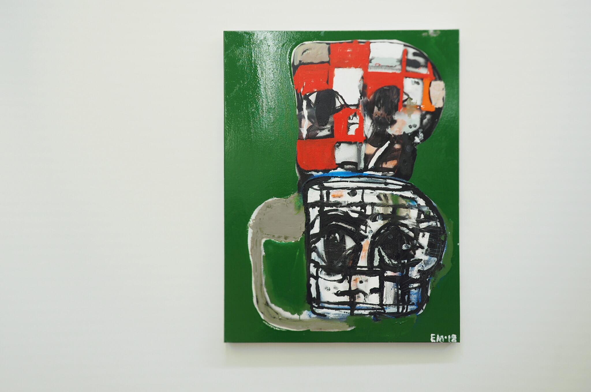 独学アーティスト エディ・マルティネズの日本初の個展「Blockhead Stacks」が開催