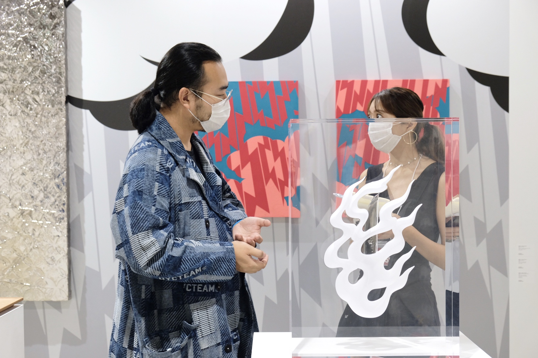 天王洲の新アートフェア「artTNZ」photo report