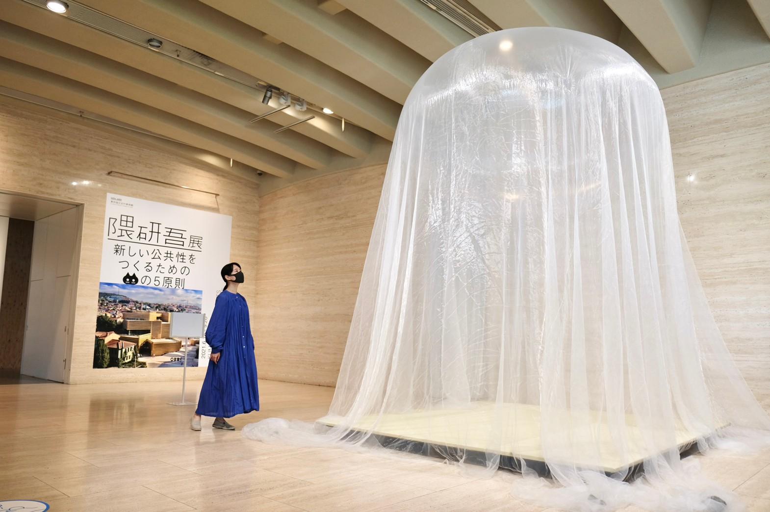 """建築家・隈研吾の大規模展!ネコの視点で考える""""公共性""""とは"""