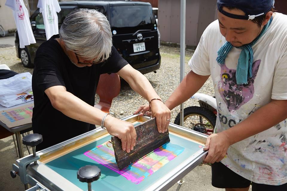 コラボワークショップ!伊藤桂司さんとTシャツプリントを遊んでみよう!【今週のおすすめイベント】