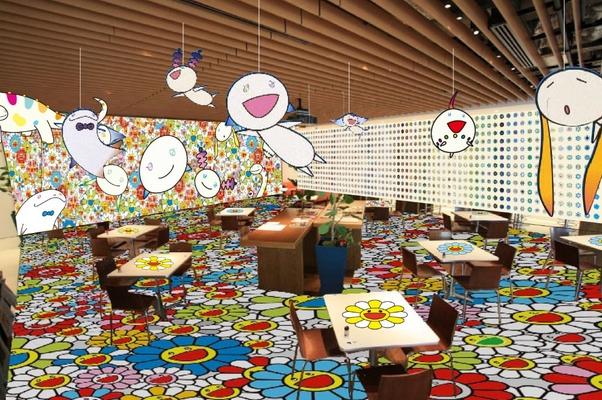 街中がお花で溢れる 35 日間! 六本木ヒルズに「村上隆のお花カフェ」が限定オープン!【今週のおすす