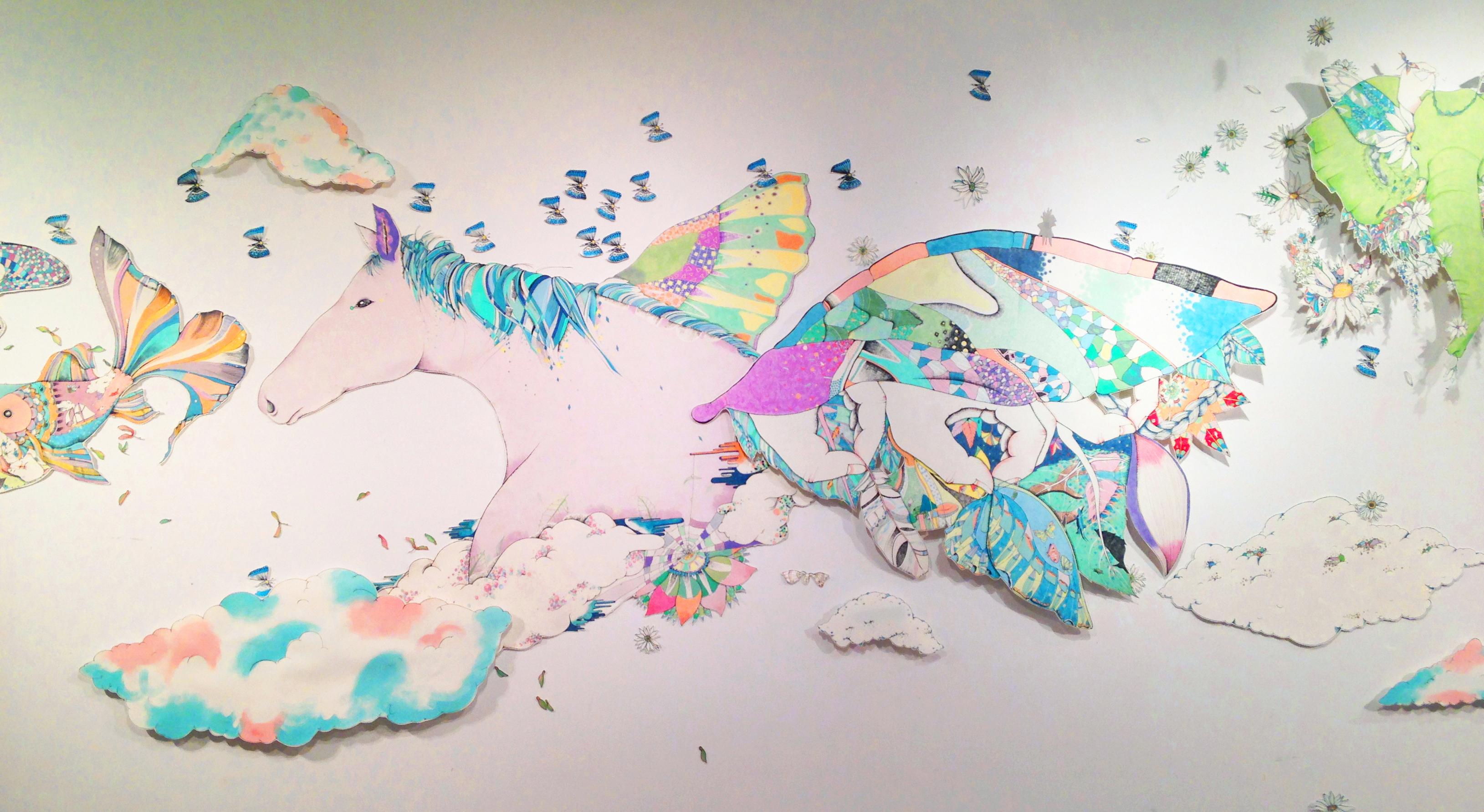 染色のストーリー! 藤沢まゆ個展 楽園 【今週のおすすめアート】