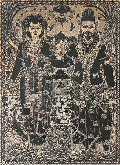 ミステリアスな瞳 ムハマッド・ユスフ展「Catching Javanese Eyes」 【今週のおす