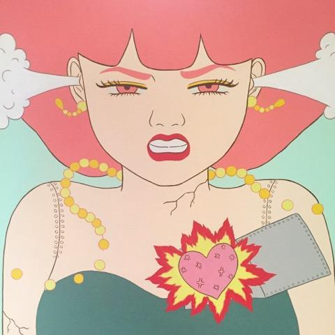 アート×お酒   CHIKA TAKEI  EXHIBITION EMOTIONAL ANDROID