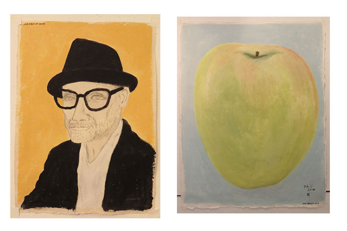 りんごの色もそれぞれ 小渕もも個展 2016【今週のおすすめアート】