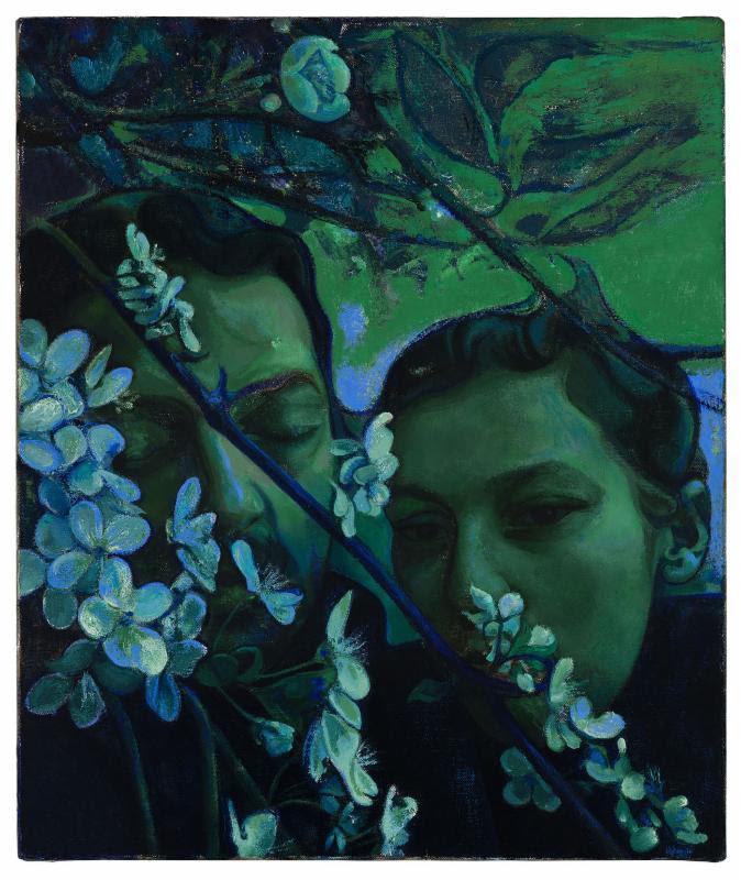 青が発する心地よい不協和音『ヴィクター・マン 展』【今週のおすすめアート】