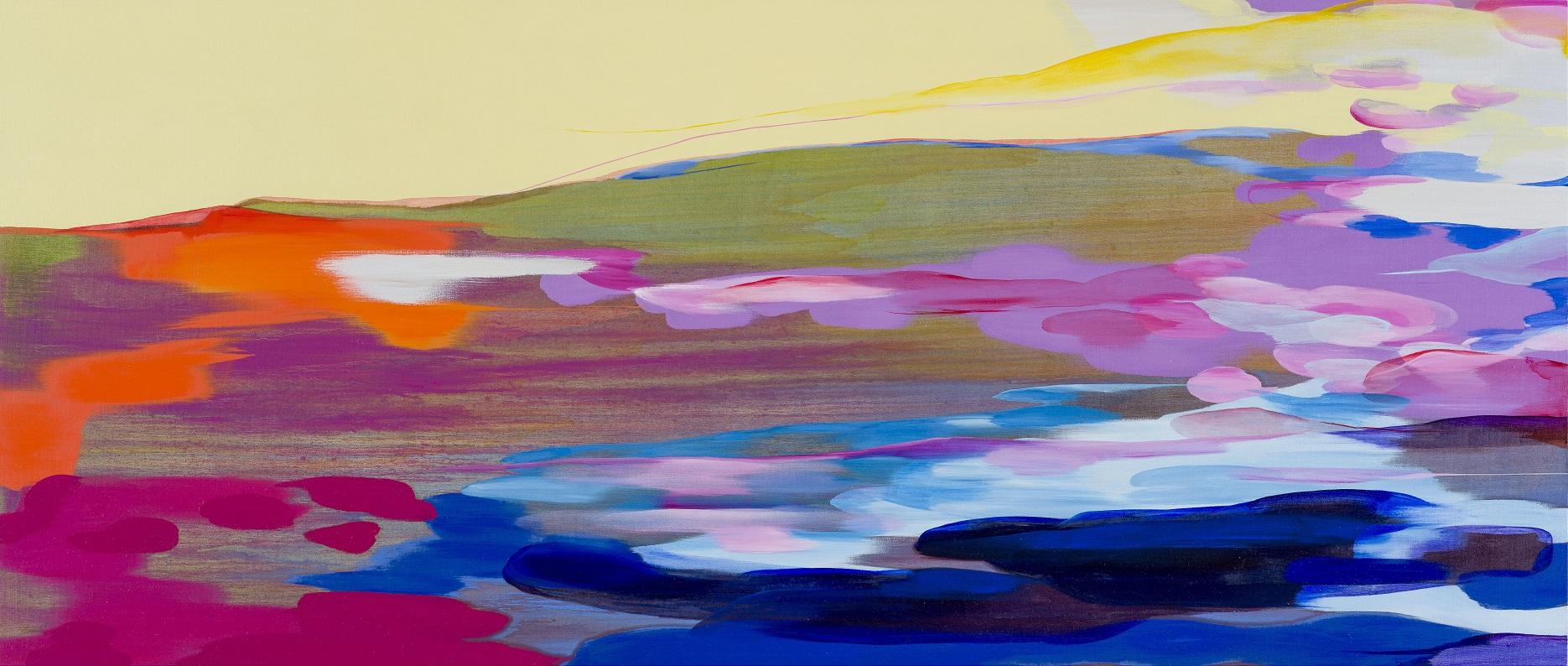 ~色彩の海を漂流する~「流 麻二果 ― 色を追う/Tracing the Colors」展