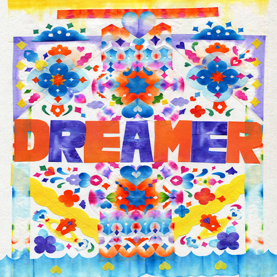 金谷裕子さんのウインドウインスタレーション企画「I'm a Dye Dreamer」開催