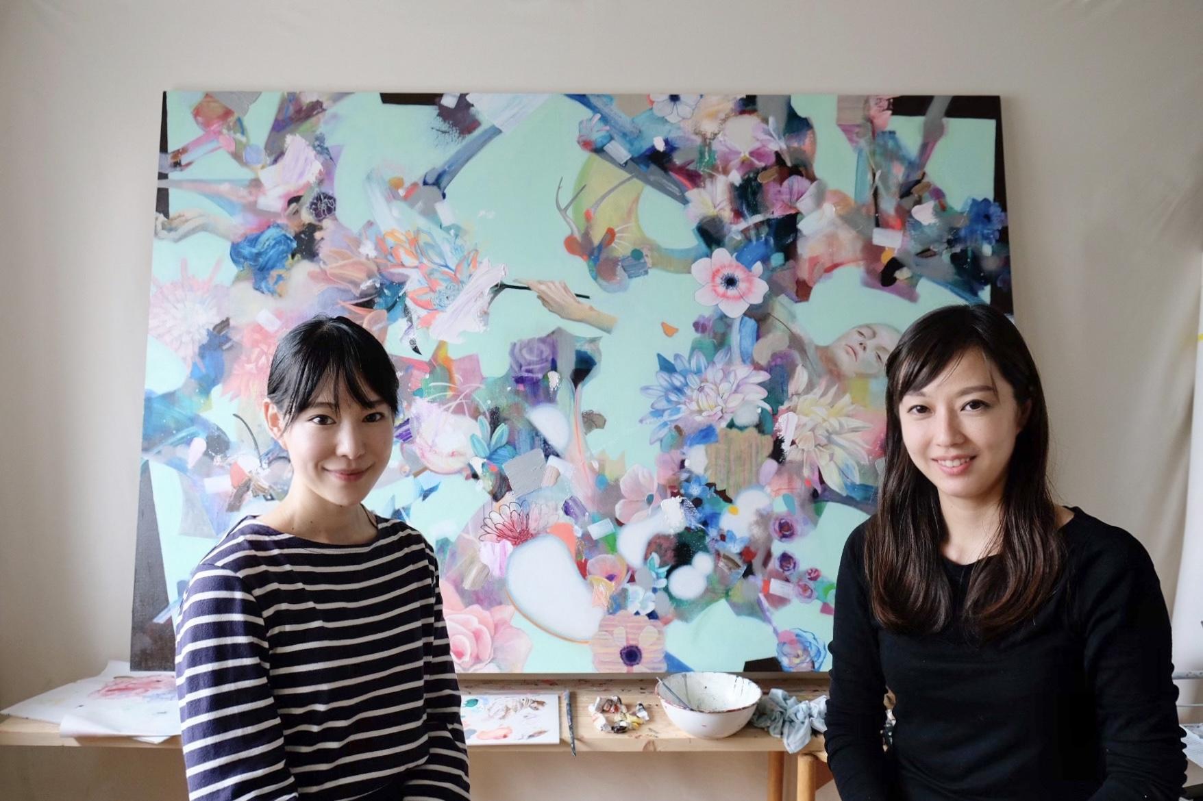 「花と身体」荻野夕奈 × 新井まる 対談