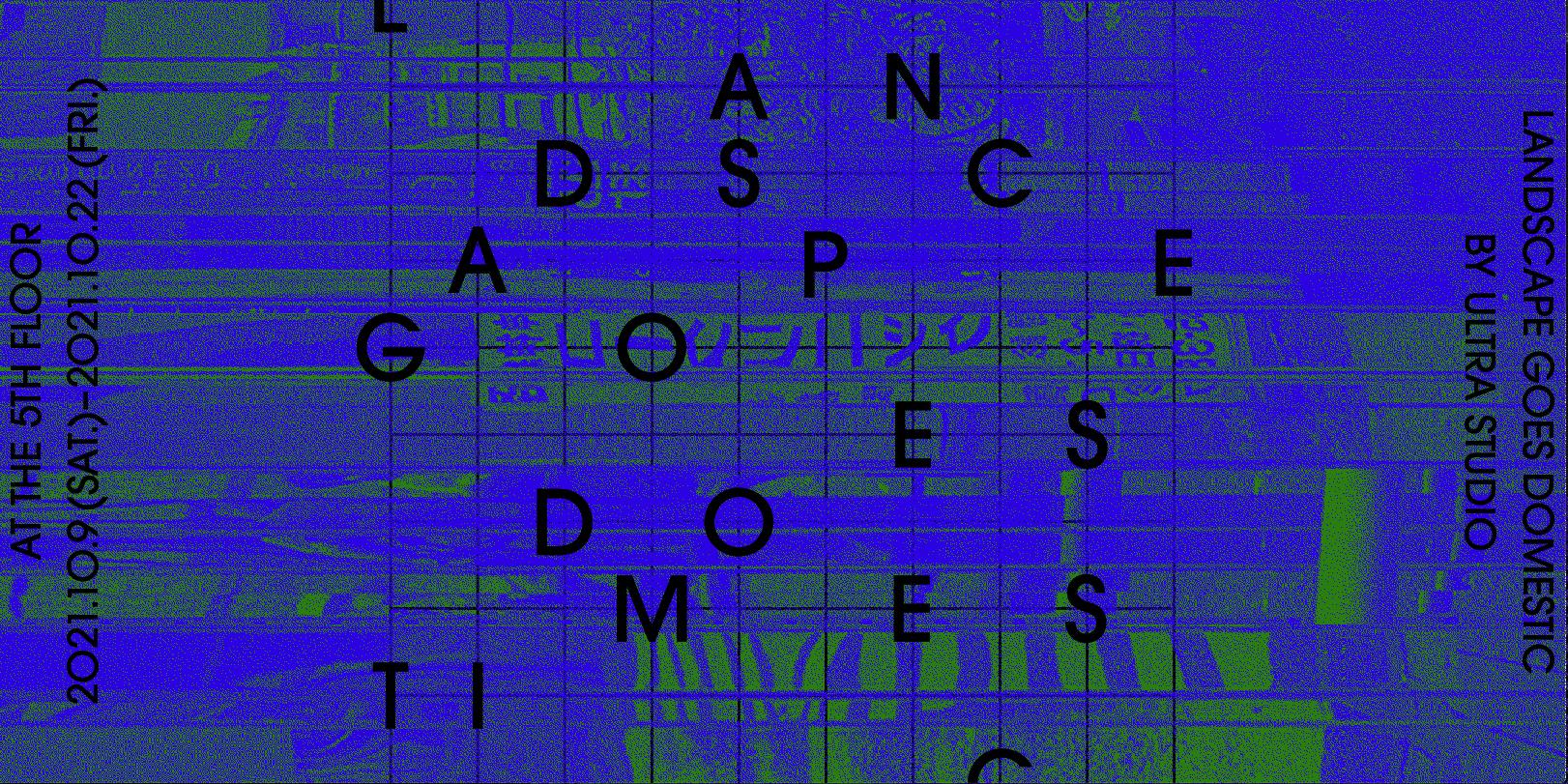 ULTRA STUDIOの個展「LANDSCAPE GOES DOMESTIC」10/23(土)まで